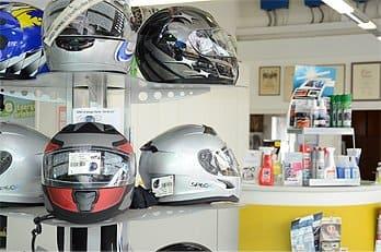 Verkauf von Motorradhelme in Eschelbronn - Autohaus Stier